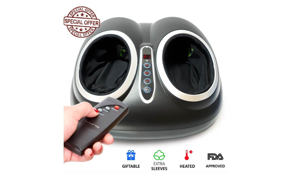 Lunix Shiatsu Foot Massager